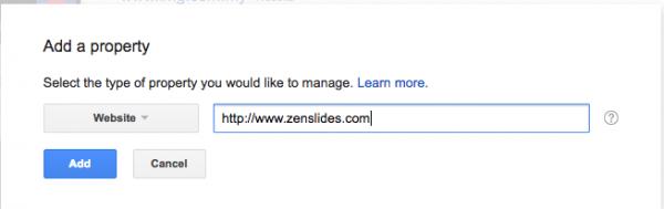 add website dalam google search console