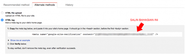 salin html tag
