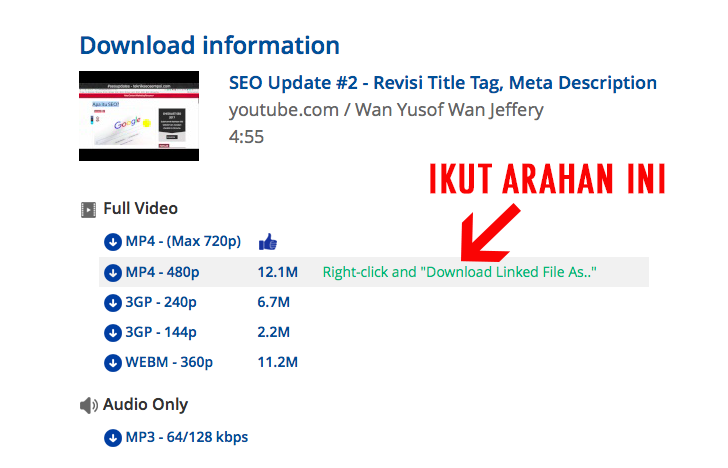 download youtube 3
