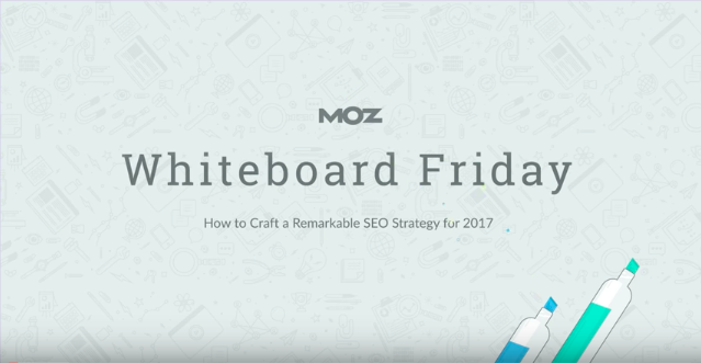 Moz Whiteboard Friday