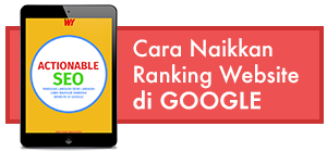 cara naikkan ranking website di Google