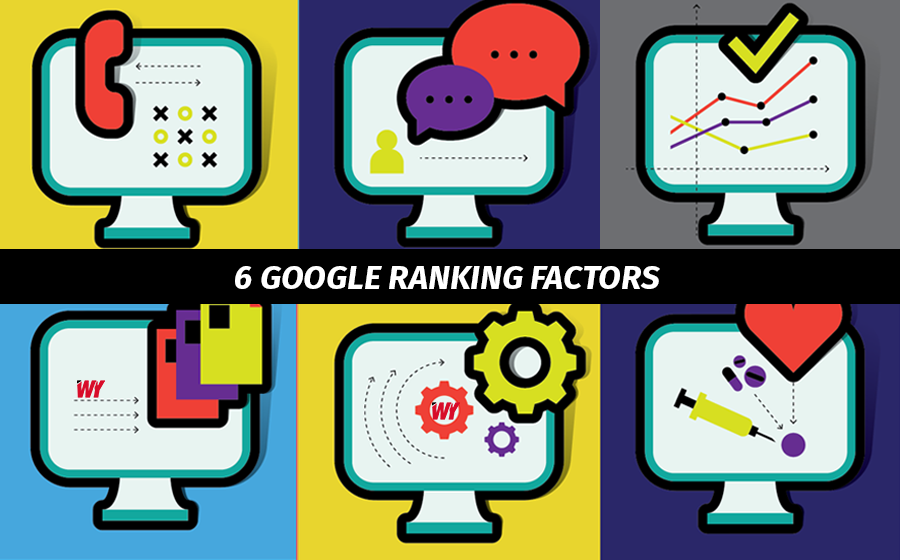 naikkan website - 6 google ranking factors