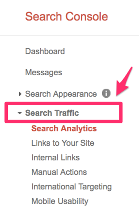gsc search traffic