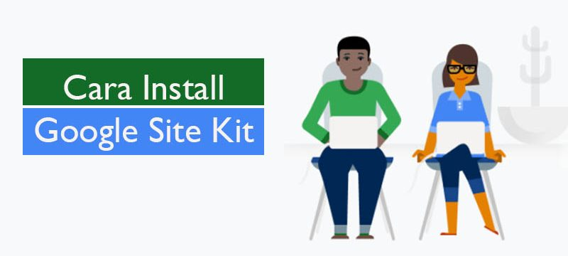 cara install google site kit